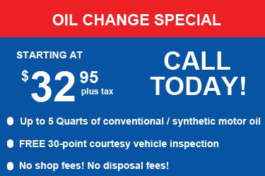 Mccluskey chevrolet oil change coupon